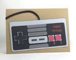gamer birthday card etsy