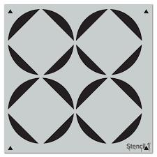 64 Best Moroccan Stencil And by Stencil1 Square Petals Repeat Pattern Stencil S1 Pa 55 The Home