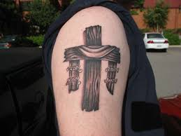 wooden cross tattoos great ideas and tips