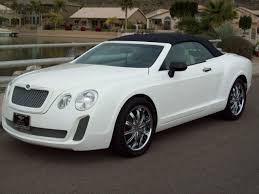 chrysler sebring cross dressed as bentley continental gt convertible