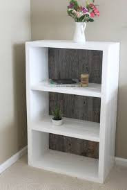 Free Bookshelves Reclaimed Wood Painted White And Grey Wood Bookshelf Bookcase