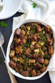 thanksgiving sausage dressing caramelized onion apple and sausage whole grain stuffing