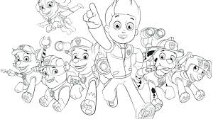 happy birthday paw patrol coloring page paw patrol coloring pictures complete paw patrol coloring pages best
