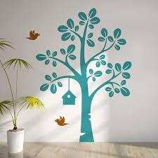 stickers arbre chambre fille peinture decoration chambre fille 16 stickers arbre stylis233