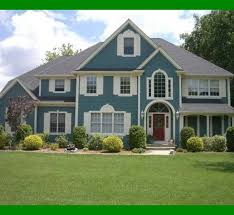 Exterior House Painting Preparation - preparation and carrying out house paint ideas exterior