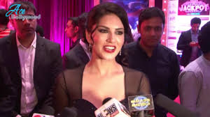 sunny leone at the award function with loop control youtube
