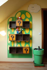 Super Mario Home Decor Kids Video Game Themed Rooms Mario Toy Boxes And Room