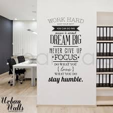 The  Best Office Wall Decals Ideas On Pinterest Office Wall - Wall design decals
