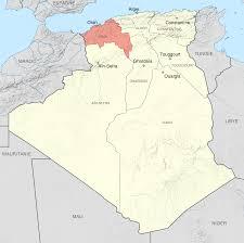 Algeria On Map Oran Department Wikipedia