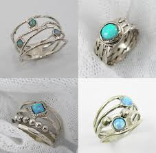 rings with opal images Opal rings capital life and random beauty png