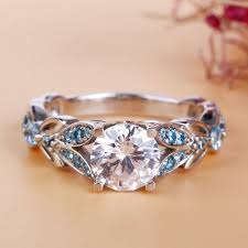 butterfly wedding rings images Butterfly round cut sterling silver ring jeulia jewelry jpg