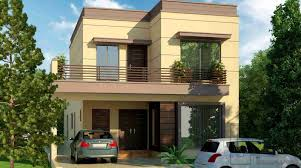 Home Design For 10 Marla In Pakistan by 10 Marla House Front Elevation Gharplans Pk