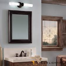 tigris mirror round bath light fixture tech lighting