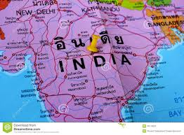 Bhopal India Map by India Map Stock Photo Image 46119005