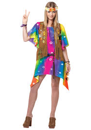 Halloween Costumes Fir Girls Halloween Costumes Girls Age 10 Teen Groovy Hippie