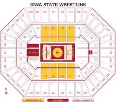 Iowa State Campus Map Iowa State Athletics
