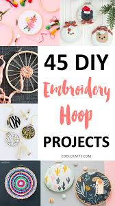45 stunning embroidery hoop diy projects u2022 cool crafts