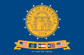 New Georgia Flag File Flag Of The State Of Georgia 2001 2003 Svg Wikimedia Commons