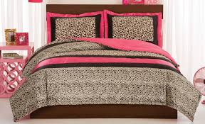 Leopard Bed Set Leopard Or Comforter With Shams