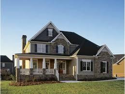 brick country house plans single story house design brick