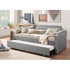 Daybed With Trundle And Mattress Included Trundle Daybeds You Ll Wayfair