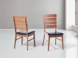 sedie da sala da pranzo sedia da sala da pranzo in legno e cuoio dumbo beliani it