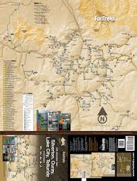 Colorado Cities Map by Off Highway Map For Silverton Ouray Lake City Telluride
