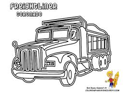 dump truck coloring pages coloring home