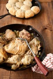 smothered chicken and biscuits recipe by paula deen recipe