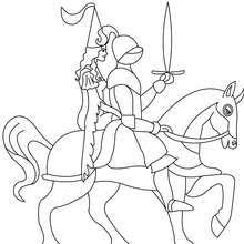 knight coloring pages 23 fantasy coloring sheets kids