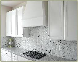 glass tile kitchen backsplashes pictures metal and white white glass shell metal mosaic tile white glass tile white glass
