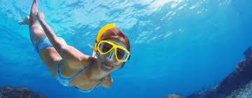 jeep snorkel underwater curacao snorkel beach safari