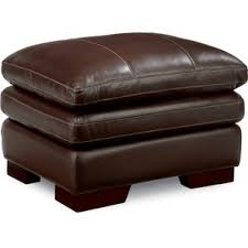 brown leather ottomans you u0027ll love wayfair