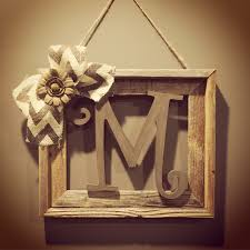 other decor mirror art 137 loversiq popular items for rustic home decor on etsy barnwood frame with initial cheap home decor