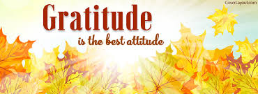 Thanksgiving Facebook Covers Gratitude Is The Best Attitude Facebook Cover Coverlayout Com