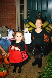 family halloween costumes for 3 the parsonage family garden family