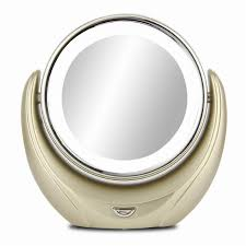 magnifying lighted makeup mirror led vanity double sided cosmetic
