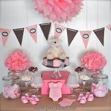 Red Baby Shower Themes For Boys - cute baby shower ideas for a pink organza miniature dress for