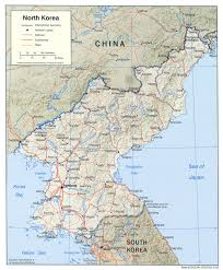 Map Of China And Surrounding Countries by
