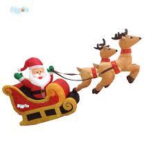 popular inflatable christmas santa buy cheap inflatable christmas