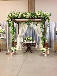 Wedding Chuppah Rental Rustic Elegance U2013 Ancaster Wedding Show 2014 Warehouse 84