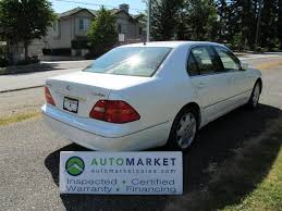 lexus for sale vancouver bc used 2002 lexus ls 430 rare loaded insp warr for sale in