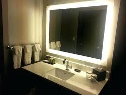 wall mirrors illuminated wall mirrors for bathroom amusing large