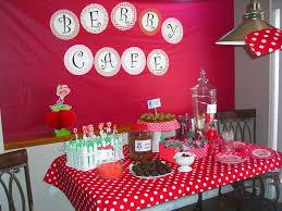 home confetti strawberry shortcake 4th b day party