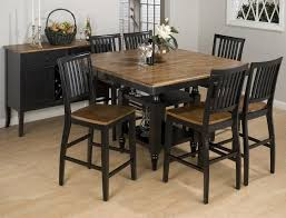 black counter height dining set 5piece counter height dining room