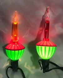 christmas bubble light replacement bulbs vtg yellow red green noma 2 bubble light replacement bulbs christmas