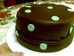 chocolate marshmallow fondant cake youtube