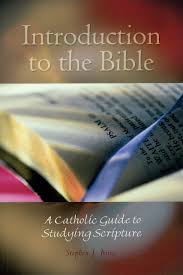 introduction to the bible a catholic guide to studying scripture
