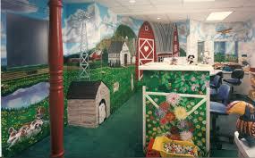 bonnie siracusa murals fine art farm mural for reception room of dr kunken s office