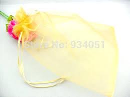 gold organza bags wedding favor bags wholesale sheer organza favor bags silver gray